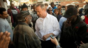 O'Malley, who served as Maryland's governor after he left Baltimore's city hall, has offered to help Mayor Stephanie Rawlings-Blake.   AP Photo