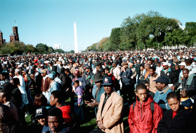 The Million Man March took place on October 16, 1995. Photo by Joacim Osterstam / Flickr